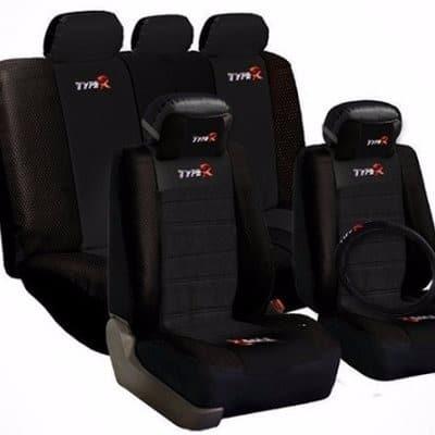 Car Seat Cover Bundle Black
