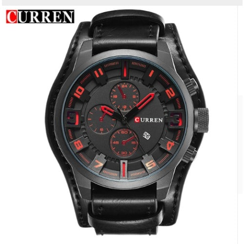 /C/a/Casual-Sport-Leather-Strap-Watch---Red-Dial-7285374.jpg