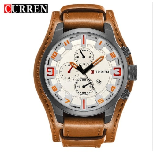/C/a/Casual-Sport-Leather-Strap-Watch---White-Dial-7769163.jpg
