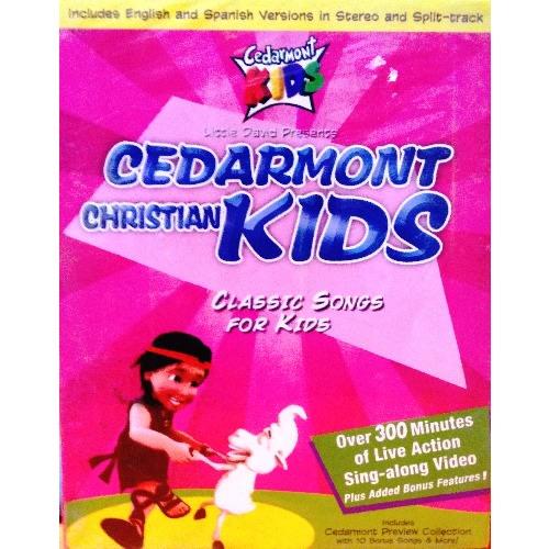 Cedarmont Christian Kids Classic 4 Dvd Collection