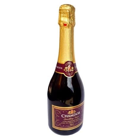 Chamdor Sparkling Grape Wine.