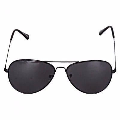 c3886a3974 Chester Aviator Frame Sunglasses with Dark Lenses - Black