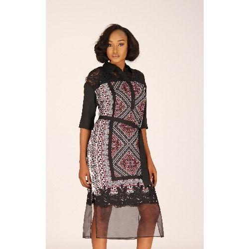 /C/h/Chiffon-Dress-with-Sheer-Organza-bottom-panel-Pink-and-Black-Print-7924621.jpg