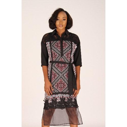 /C/h/Chiffon-Dress-with-Sheer-Organza-bottom-panel-Pink-and-Black-Print-7924623.jpg