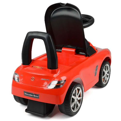 Children S Mercedes Benz Sls Amg Ride On Push And Glide Sports Toy