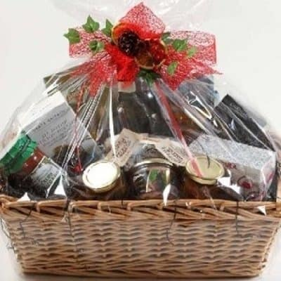 Christmas Hamper Basket.Christmas Hamper