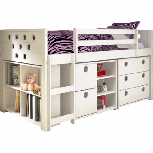 Buy Handys Circles Twin Loft Bed with Storage | Konga Online Shopping