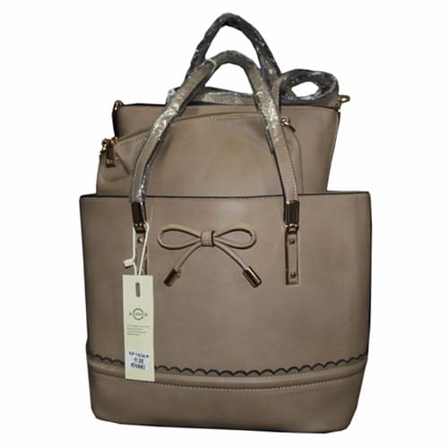 C l Classic-Female-Hand-Bag---Beige 83f0a17256161