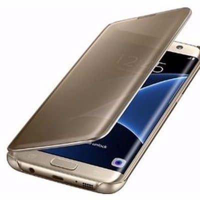 half off ec939 f77b8 Clear View Cover for Samsung Galaxy S7 Edge -Originally Harmonious Smart  Case