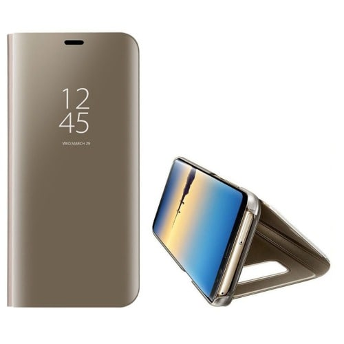 the latest 19eca d7ba2 Clear View Flip Case For Samsung Galaxy Note 8 - Gold