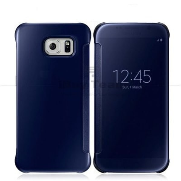 innovative design 1217a ffd9a Clear View Flip Cover Case with Sensor For Samsung Galaxy S6