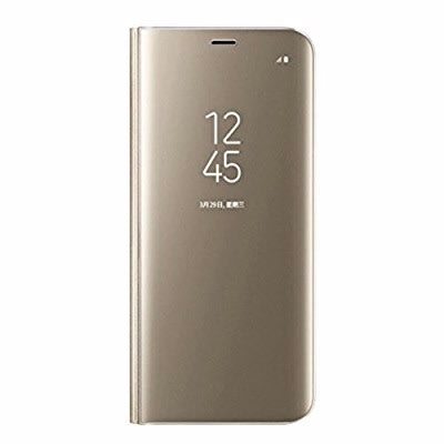 official photos 299b5 6dfe8 Clear View Smart Flip Case For Samsung Galaxy Note 8 - Gold