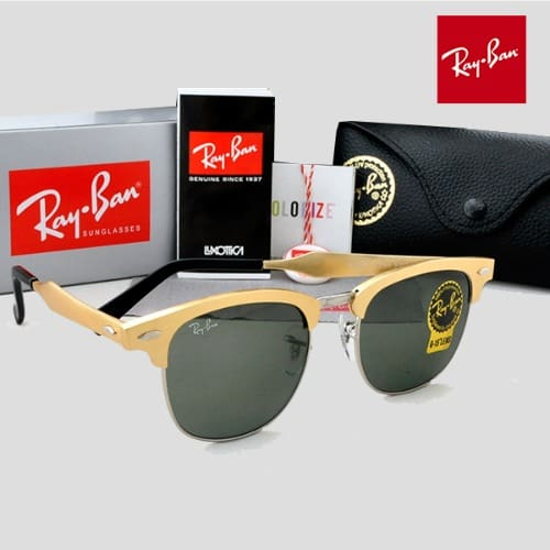 ee6197d3ed Ray Ban Clubmaster All Gold Frame - Gold