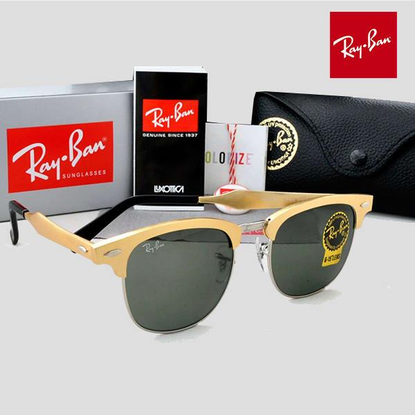 9b66642e5a114 Unisex Glasses.  C l Clubmaster-All-Gold-Frame--3979391 2.