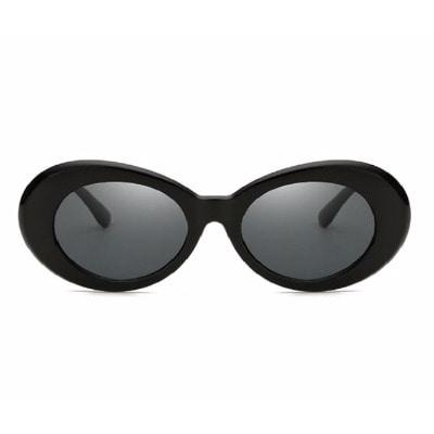 5167dafb9b8 Posh Kollect Cobain Round Sunglasses- Black