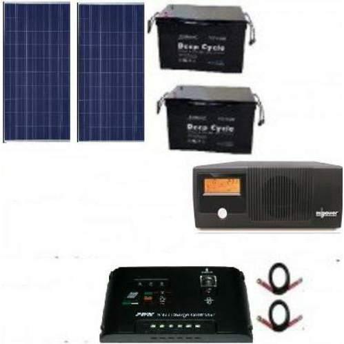 Mecury 2 4KVA Solar Kit with Inverter + Battery + Solar Panels +