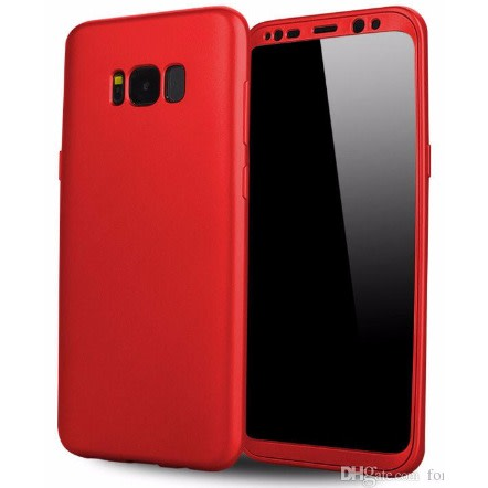 new style 6692b 26cb0 Cover for Samsung S8 360 - Red
