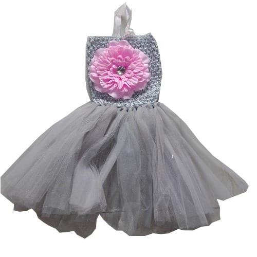 Lassentials Crochet Tutu Grey Dress Konga Online Shopping