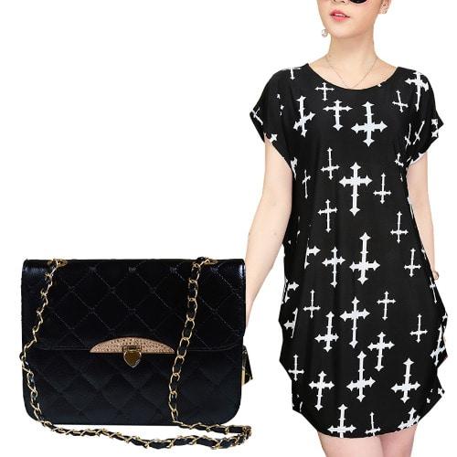 /C/r/Cross-Pattern-Ice-Silk-Mini-Top-Blouse-Quilted-Bag--Black-7130128.jpg