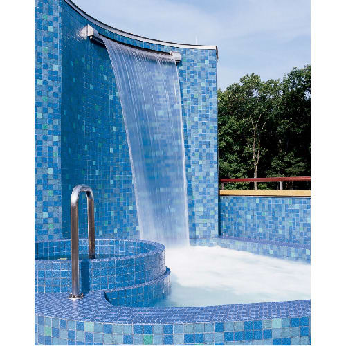 Crystal Glass Mosaic Tiles For Swimming Pool - 1 Sq. Metre