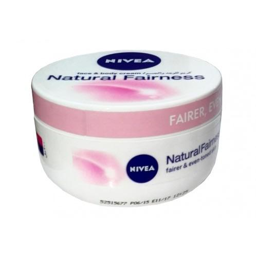 nivea natural face cream