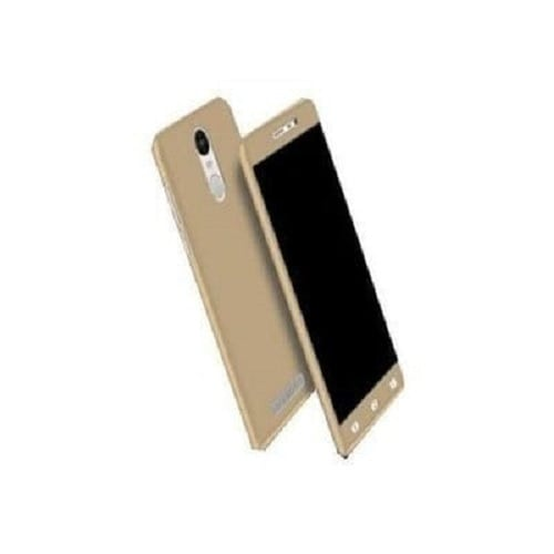 360 Protective Case For Tecno K7 Spark - Gold