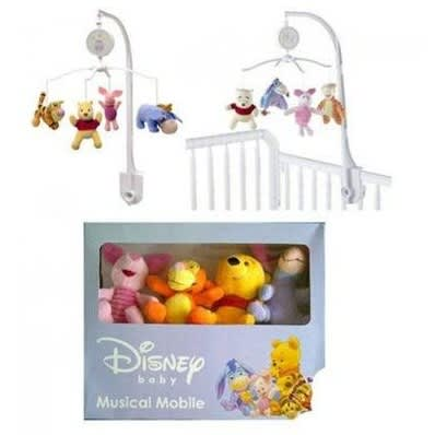 Winnie The Pooh Musical Mobile Cot