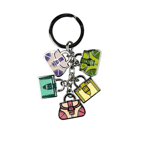 Multi- Color Fashion Bags - Key Holder