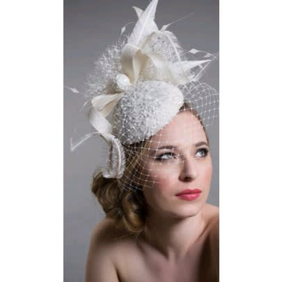 05125b2d110bd Women's Sinamay Fascinator -cream Yu