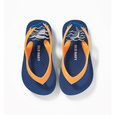 f9126a94e2d Old Navy Printed Flip-flops For Toddler Boys
