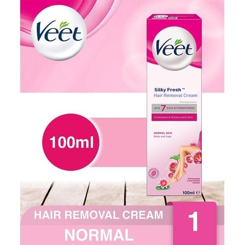 Veet Silky Fresh Hair Removal Cream Sensitive Skin 100ml