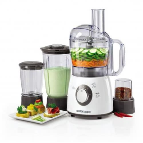 Food Processor With Blender, Mincer & Grinder 400w