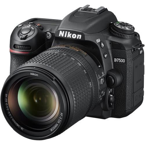D7500 DSLR Camera with 18-140mm Lens - Black