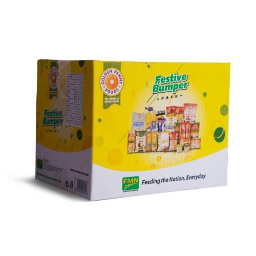 Golden Penny Ramadan Food Box.