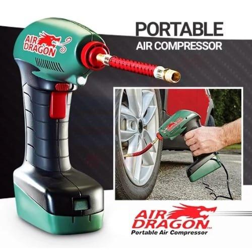 Air Dragon Tire Inflator >> Air Dragon Portable Car Tyre Air Compressor