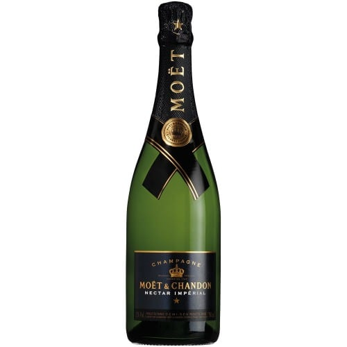 Moet Nectar Imperial Luminous Champagne 75cl 12% Acl. (single Bottle).