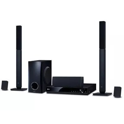 Bluetooth 1000w Dvd Home Theater - Lhd647