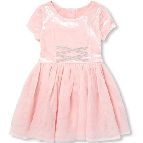 fc74ccbd The Childrens Place Girls' Toddler Mesh Glitter Dress | Konga Online ...