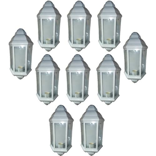 10 Pieces Beautiful Outdoor Wall Lamp & Fence Light