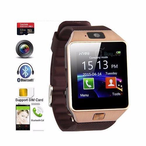49d1c050f7c7 DZ09 Plus Android Smart Watch - Gold