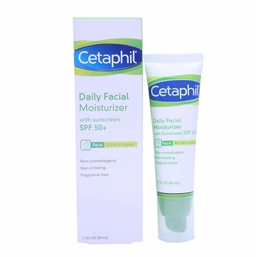 Daily Facial Moisturizer with Sunscreen SPF 50+.