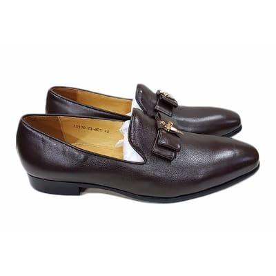 /D/a/Dark-Brown-Men-s-Bow-Loafer-Shoe-A-Free-Happy-Socks-7621301.jpg