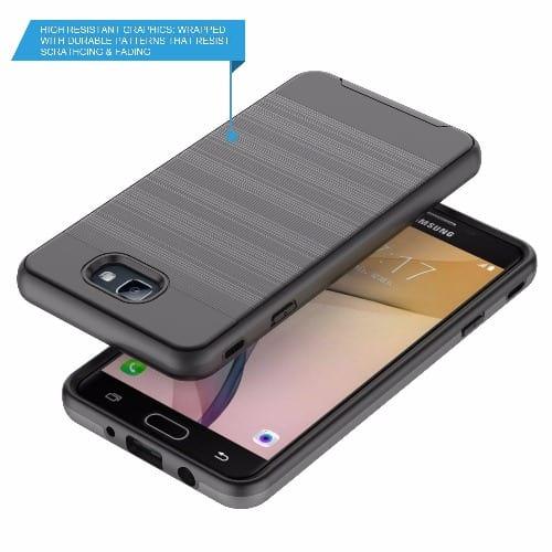 wholesale dealer 551fc 08ca9 Defender Back Case for Samsung Galaxy C5 - Black
