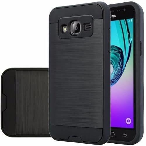 info for 1ff46 b7180 Defender Back Case for Samsung Galaxy Grand Prime & Grand Prime Plus - Gold