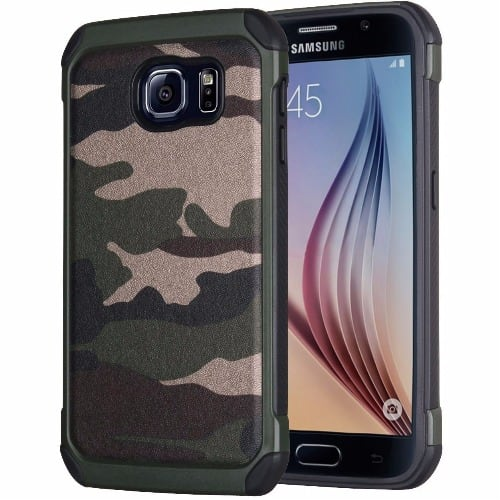 big sale 16051 9bdd1 Defender Back Case for Samsung Galaxy S6 Edge - Camo
