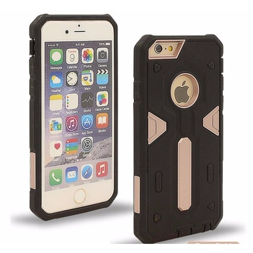 1a88ef7bba Apple Defender II Back Case for iPhone 6 Plus & 6S Plus - Black and ...