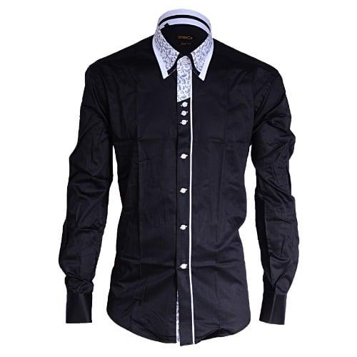 /D/e/Denim-Detailed-High-Collar-Shirt-With-Buttons-MSHT-3098---Black-5998604.jpg