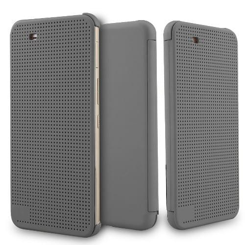 best cheap a992e 80a51 Dot View Case HTC ONE X9 - Grey