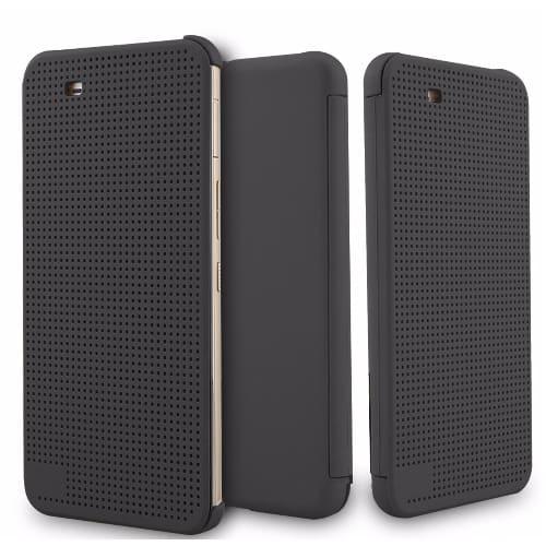 sale retailer 0579d c36c3 Dot View Smart Flip Case for HTC One X9 - Black