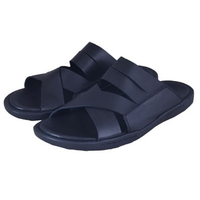 /D/o/Double-Cross-Simply-Design-Leather-Slippers-MSL-4293---Black-7380400.jpg